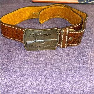 Men's Remington leather belt